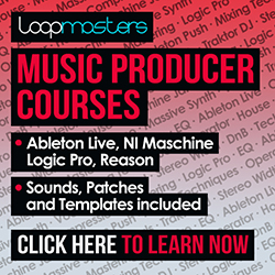 Electronic Music Production Courses from Loopmasters.com