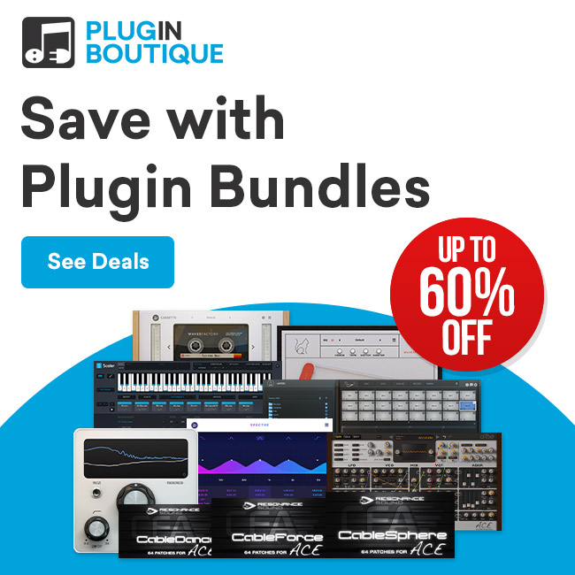 Music Software Bundles from Pluginboutique.com