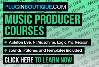 Electronic Music Production Courses from Pluginboutique.com