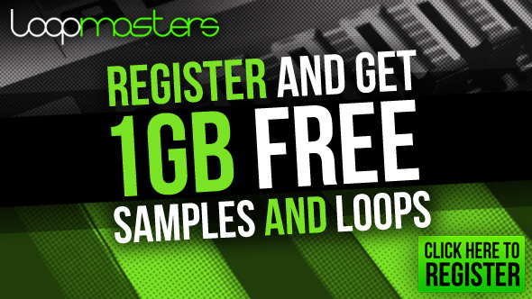Download 1 GB Free Samples and Loops