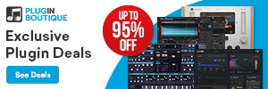 Music Plugin Deals at Pluginboutique.com