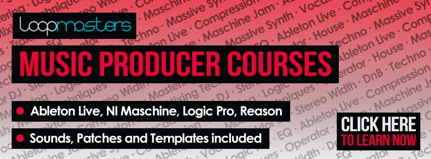Electronic Music Production Courses from Loopmasters.com  Home dd71865f